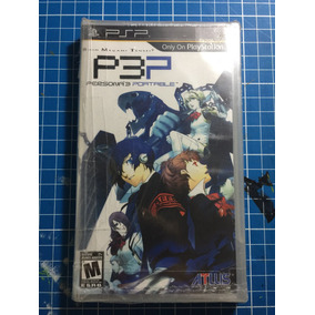 Psp Persona 3 Portable Nuevo