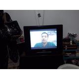 Tv Philips 21¨ Pol Tela Plana Controle Remoto Antena Cod1051