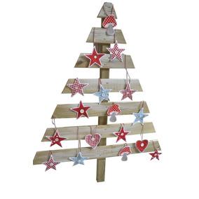 Arbol Navidad Madera Pallet Arboles De Navidad En Mercado Libre - Arbol-de-navidad-artesanal