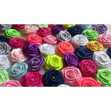 Rosas Rococo, Flores De Cinta, Lazos, Cintillos, Apliques!
