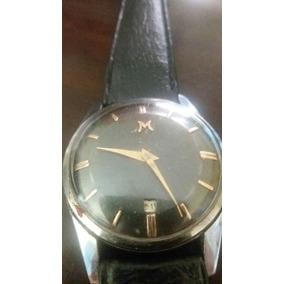 Antiguo Reloj Lanco Numeros Y Agujas De Oro