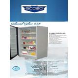 Congelador Vertical Ecasa 12 Y 16 Pies Puerta Vidrio O Metal