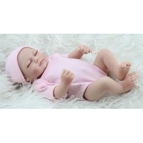 Boneca Menina E Menino Bebê Reborn Realista 28cm Barato 1 Un