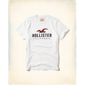 Remeras Hollister Bordadas Eeuu