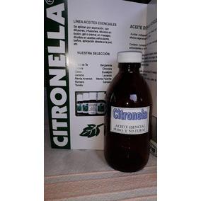 Citronela - Aceite Esencial Puro Y Natural - Envase 250 Ml