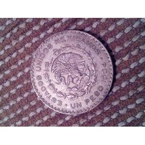 Moneda Peso Estados Unidos Mexicanos 1964