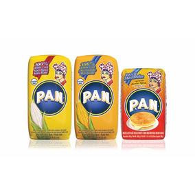 Harina Pan Amarilla P/ Arepas Colombianas Cachapas Venezuela