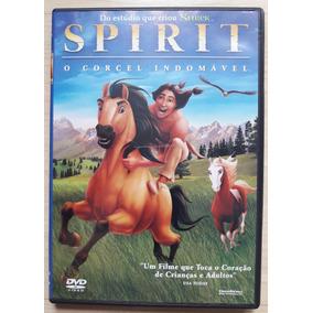 Dvd Spirit O Corcel Indomavel Original Novo Não Lacrado Raro