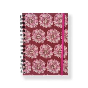 Cuaderno Flores Rosa