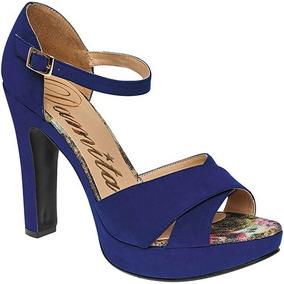 Zapatos Abiertos De Tacón Damita 44007 M58222
