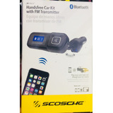 Manos Libres Transmisor Llamadas Y Fm Bluetooth