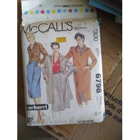 Patrones Ropa Mccalls 1979