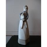 Figura En Porcelana Lladro Pastora Impecable