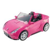 Carro Barbie Convertible Para Muñeca New Glam Rosa Mattel