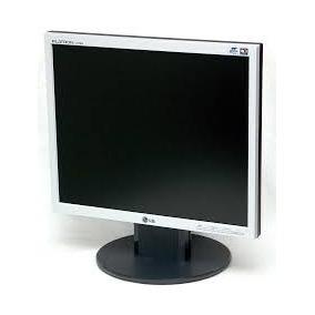 Kit 2 Monitores Lg 17 Polegadas Lcd Quadrado Vga/dvi/usb