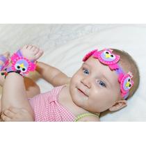 Accesorios Para Bebes,lazos Y Pies Descalzos,cintillos Niñas