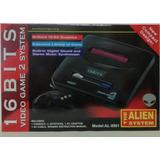 Consola Sega Alien 16 Bits 5 Juegos Incorporados La Mejor!!!