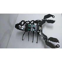 Figura Escorpion Metalico Material Reciclado