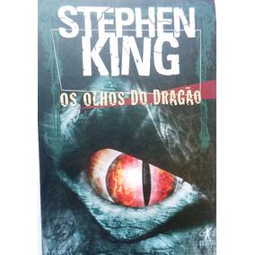 Livro Os Olhos Do Dragão - Stephen King Usado Semi Novo