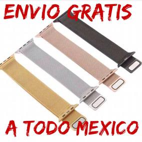 Correas Apple Whatch De Acero Malla Milanes, Envío Gratis...