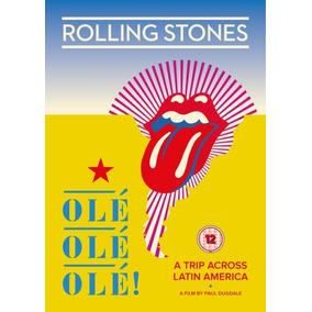 Dvd The Rolling Stones Ole Ole Ole Nuevo 2017 En Stock