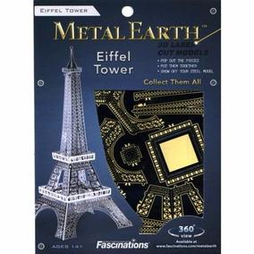 Metal Earth Torre Eiffel 3d Maqueta Acero S/ Soldar Ni Pegar