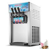 3 Sabor Comercial Congelados Helados Máquina Suave Del...