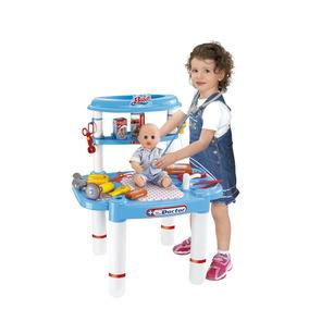 Mesa Bancada + Kit De Médico Infantil - Bel Brink