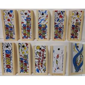 35 Domino De Madera, Memoria, Alfabeto, Loteria Infantil
