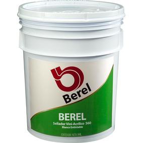 Berel Sellador Vinilico Blanco Entintable Cubeta 19lt