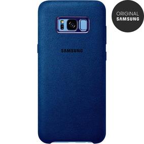 Capa Protetora Alcantara Galaxy S8
