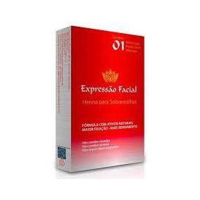 Kit 6 Henna (cores A Escolher) + Frete Grátis - Expre Facial