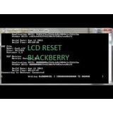 Lcd Reset Blacberry. Si Te Sale La Pantalla En Blanco