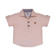 Camisa Polo Masculina Infantil De Malha