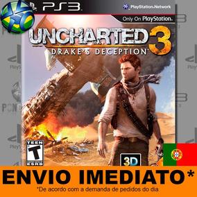 Ps3 Uncharted 3 Drakes Deception Jogo Dublado Port. Portugal