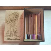 Caixa Em Madeira Mdf Cru P/ Lápis Totalmente Personalizável