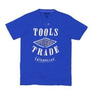Remera Caterpillar Tools Trade Tee Blue