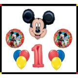 Disney Mickey Mouse Clubhouse 1 Feliz Cumpleanos Globo X01