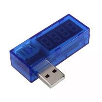 Testador Usb Medidor De Voltagem Amperagem E Capacidade
