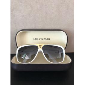 Óculos Sol Masculino Louis Vuitton Evidence Branco Original