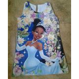 Vestido Tiana -la Princesa Y El Sapo - Ig