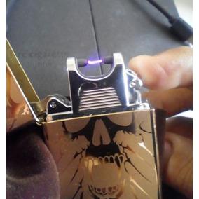 Encendedor De Arco Electrico Electronico Plasma Craneo Skull