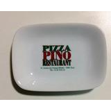 Cinzeiro De Porcelana Restaurante Pizza Pino -paris França
