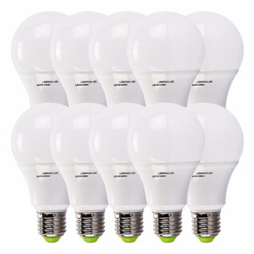 Kit 10 Lampada Led 18w Bulbo Soquete E27 Bivolt Casa Comerci