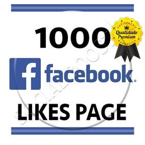 1.000 Curtidas/seguidores Página Facebook