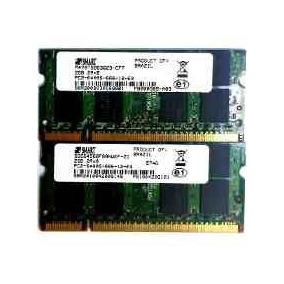 Memoria Para Notebook 4gb Ddr2 Pc-6400 Smart 2x 2gb Garantia