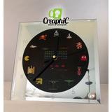 Reloj, Atari, Reloj De Escritorio, Vintage, Retro, Arcade
