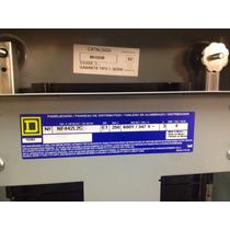 Tablero Square D Tipo Nf Con Interuptor Principal De 3x225 A