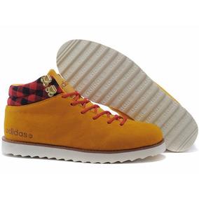Bota adidas Neo Rugged High Yellow Boot, A Pronta Entrega.