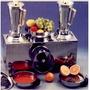 Licuadora Industrial 3 En 1 Doble Vaso Con Exprimidor Anion